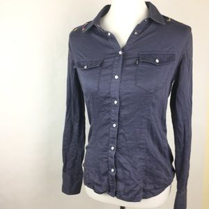 Levi's Snap Button Down Top